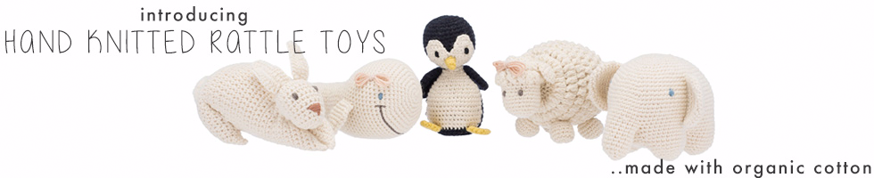 Shop Knitted Rattle Toys
